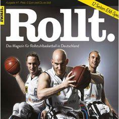 Exklusiv Abos für Rollt. Das Rollstuhl Basketball Magazin http://www.fairplaid.org/Gutscheine/Gutschein-Detail/vid/75