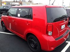 """""""Absolutely Red"""" #Scion xB on our lot!"""