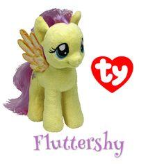 My Little Pony Fluttershy Beanie Baby! #MLP