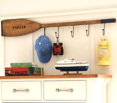 Great nautical bedroom idea from Pottery Barn Kids