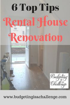 Are you looking to renovate to rent out a house? Read my top tips for creating the ideal rental house, how much renovation on a rental house you need to do and how to keep within your renovation budget.