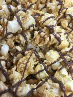 Milk chocolate bacon gourmet popcorn White Chocolate Popcorn, Chocolate Cherry, Chocolate Peanut Butter, Peanut Butter Popcorn, Gourmet Popcorn, Bacon, Milk, Breakfast, Food
