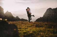 Adventurous Engagement Shoot in the Julian Alps | Happy Moments Wedding Photography