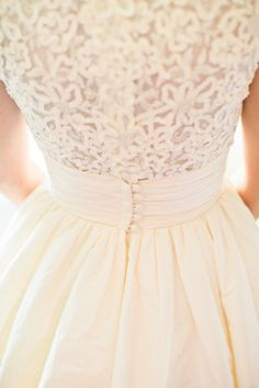 wedding dress / watters - nice picture of the wedding dress details!