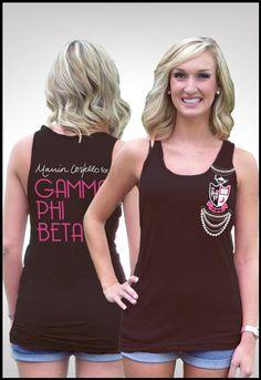 Gamma Phi Beta! LOVE this shirt :)