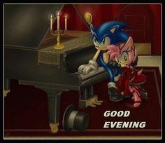 Good evening cartoons