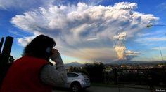 Alerta roja en Chile por la sorpresiva erupción del volcán Calbuco - BBC Mundo