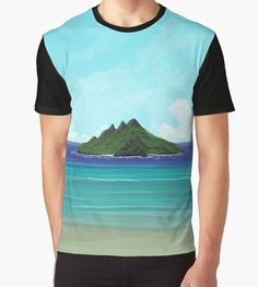 """""""Lost Island"""" Graphic T-Shirts by Lidra 