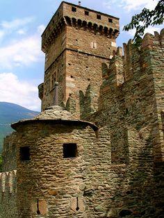 Castello di Fenis, Valle d'Aosta, Italia