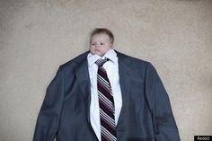 Great baby photo idea!