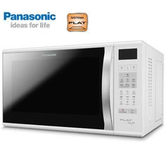 Micro-ondas 27L SF560WRUN Flat Branco 110v - Panasonic no eFácil.com.br