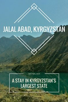 Going through the Jalal-Abad oblast brings a whole new side of Kyrgyzstan, stark mountains, gorgeous peaks, and a whole ton of wide open space!