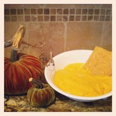 Pumpkin Pie Protein Mousse:  I make this for myself- throw in an extra scoop of protein powder if you want - delish, low cal and high protein!  YUM