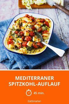 Mediterraner Spitzkohl-Auflauf - smarter - Zeit: 45 Min. | eatsmarter.de