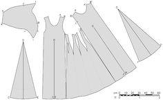 Alraris: O szwie princess seam i wykrojach sukni z przełomu XIV i XV wieku.