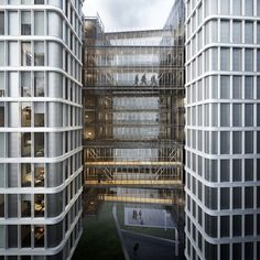Mixed-use development in Vienna / Renzo Piano Building Workshop