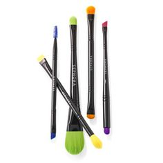 Cleverly double-ended, these makeup tools will help you beautify your most important canvas.