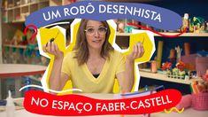 Um robô desenhista no espaço Faber-Castell - BuBaDIY Faber Castell, Education, Youtube, Father And Son, Sons, Diy Creative Ideas, Diy, Activities, Dads