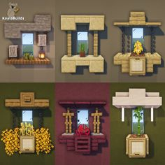 Living Room In Minecraft, Minecraft Cottage, Minecraft Castle, Cute Minecraft Houses, Minecraft Plans, Cool Minecraft, Minecraft House Tutorials, Minecraft Creations, Minecraft Projects
