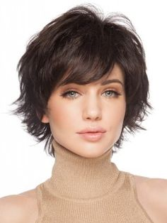 Good Looking Remy Human Hair Straight Capless Wig, Wigs