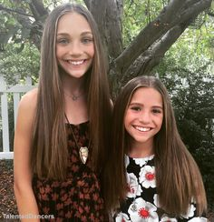 They are gorgeous !!! Maddie Ziegler and Mackenzie Ziegler