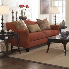 Broyhill Ferron Court Sofa....love the color.
