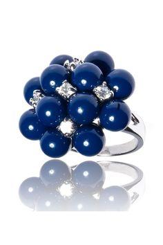 La Vamp Bleue Ring