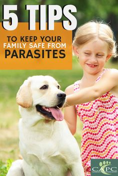 CAPC tips to keep your family, pets & children safe from parasites. More at petsandparasites.org