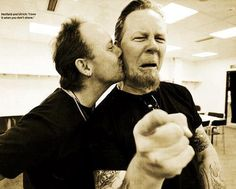 James Hetfield, metallica, and lars ulrich Bild