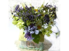 Spring Flowers by Kelly Walston on Etsy