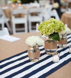 recicla tus frascos de cristal: velas flores secas, flores frescas,...,todo vale!!