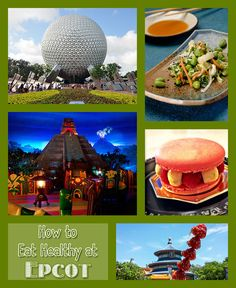 "There are so many delicious treats to choose from when ""eating around the world"" at Epcot. Here's how to make a few healthy choices!"