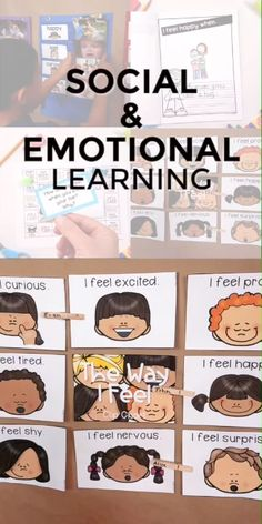Emotions Feelings Social Emotional Learning Character Education Curriculum Emotions Feelings Social Emotional Learning Character Education Curriculum This Emotions Feelings Sel Curriculum Includes 5 Detailed Research Based Lessons Filled With Hands On And Emotions Preschool, Teaching Emotions, Preschool Activities, Teaching Kids, Teaching Biology, Social Emotional Activities, Feelings Activities, Social Emotional Development, Language Development