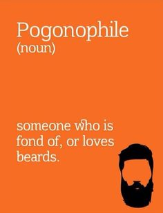 Haha theres an actual term for this #beard #beardlovers