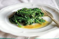 buttered spinach with vinegar buttered spinach with vinegar hirsheimer ...