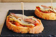 ¡Prepara una cena de alta cocina gracias a estos canapés de anchoas y pimientos! #canapés #canapésdeNavidad #canapésparaNavidad #canapésdeanchoasypimientos #canapésdeanchoasconpimientos #aperitivos #aperitivosfaciles