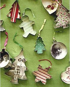 martha stewart ornaments love the german star and holiday card...http://www.marthastewart.com/851889/german-star-ornament  http://www.marthastewart.com/273222/holiday-card-ornaments