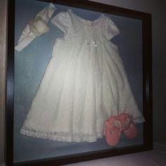 Muistotaulu vauvan nimiäisasusta ♡