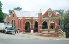 FORMER OMEO POST OFFICE SOHE 2008 Romanesque, Post Office, Public, Mansions, House Styles, Building, Places, Mansion Houses, Snail Mail