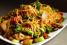 Chicken Chow Mein » Lisa G Cooks - A Lifestyle Guide that Teaches Healthy Cooking; for the Experienced and Novice Cook