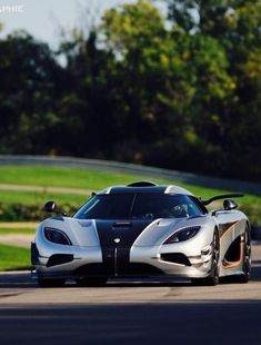 The Koenigsegg CCX and Trivata are one of the fastest supercars in the world. With as much power as a Bugatti Veyron and at half the weight. New Sports Cars, Exotic Sports Cars, Exotic Cars, Koenigsegg, Lamborghini Veneno, Sexy Cars, Hot Cars, Porsche 918 Spyder, Automobile
