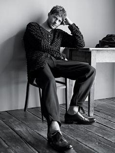 Jamie Dornan- T Magazine