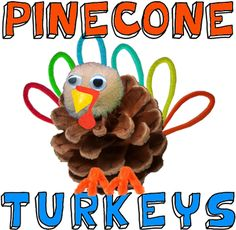 How to Make Pinecone Turkeys « Crafts Foam « Crafts With « Kids Crafts & Activities