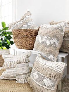 This item is unavailable : Bohemian Fringe Pillow Textured Bohemian Pillow Beige Boho Boho Throw Pillows, Bohemian Pillows, Bohemian Decor, Modern Bohemian, Bohemian Interior, Beige Pillows, Decor Pillows, Hotel Pillows, Bohemian Homes