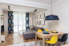 Design contemporan si accente de culoare intr-un apartament de 85 mp- Inspiratie in amenajarea casei - www.povesteacasei.ro