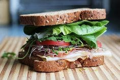 Sandwich salade, for