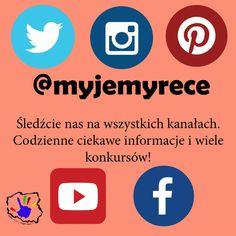 Zapraszamy do śledzenia nas na wszystkich platformach społecznościowych!  #myjemyrece #calapolskamyjerece