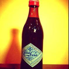 125th year commemorative Coke Bottle from Japan- awesome vintage!