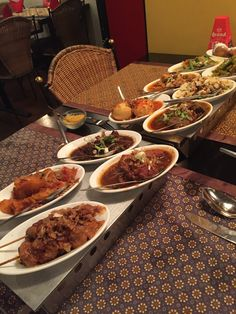 Rijstaffel is a traditional indonesian small plates meal served in amsterdam don't miss it if you pass through