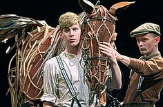 War Horse.  soon to go on tour...a MUST SEE piece of magical theatre.